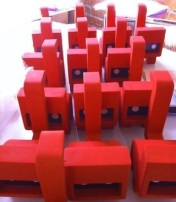 Fabricación de trofeos para CUT OUT FEST